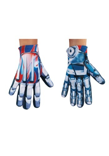 Click Here to buy Optimus Prime Transformers 5 Kids Gloves from HalloweenCostumes, CDN Funds