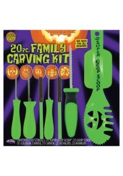 20 Piece Family Pumpkin Carving Kit