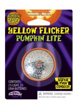 Yellow Flicker Pumpkin Lite