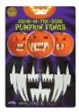 Glow in the Dark Pumpkin Fangs