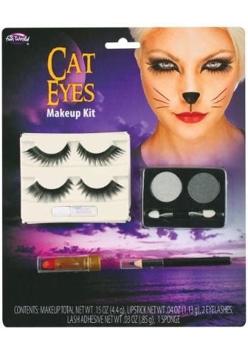 Click Here to buy Cat Eyes Makeup Kit from HalloweenCostumes, CDN Funds