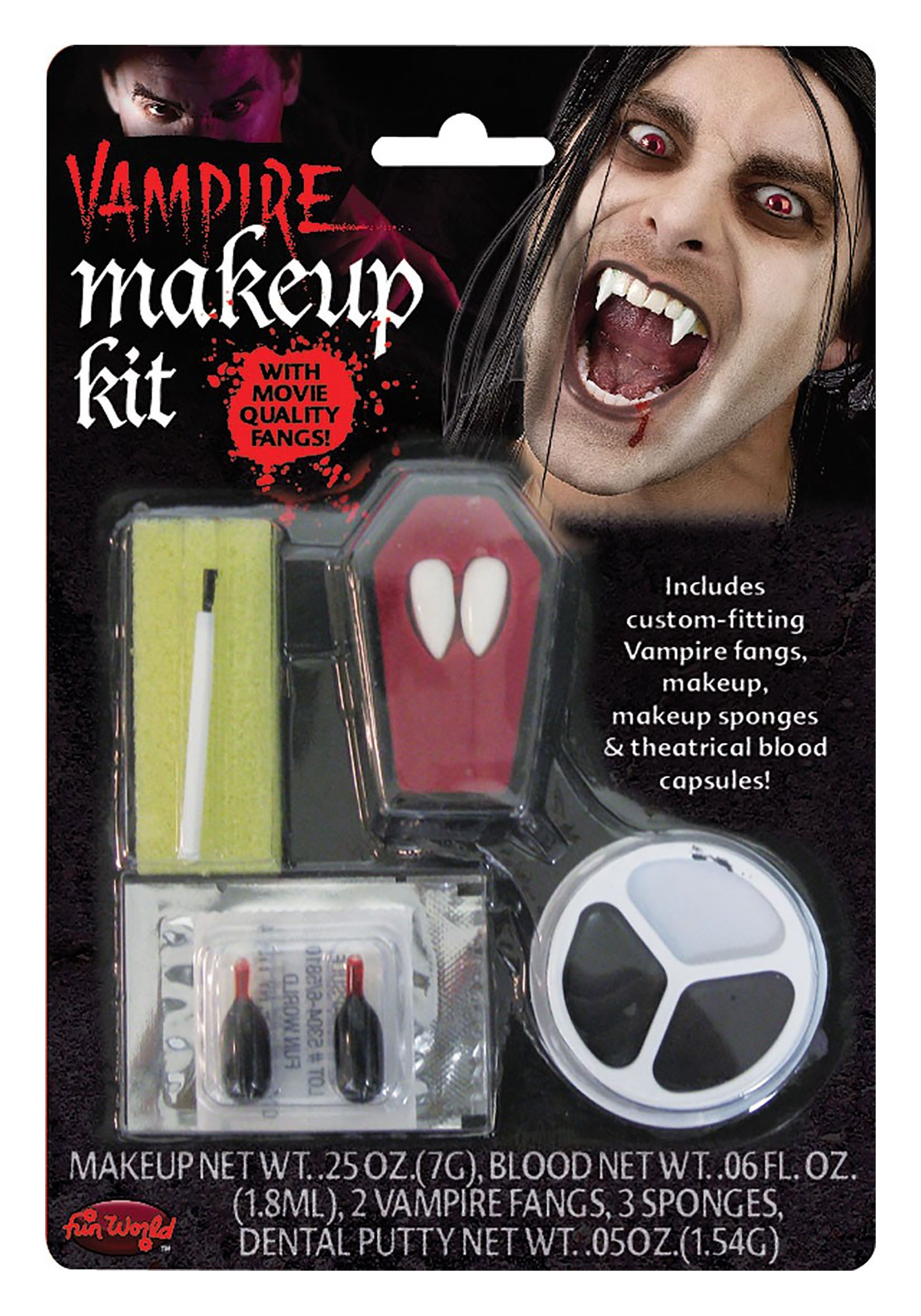 Fun World Fierce Vampire Makeup Kit