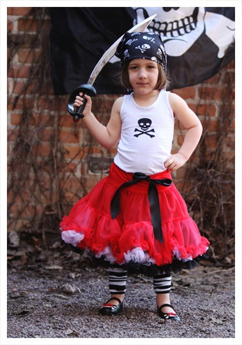 Toddler Tutu Pirate Costume