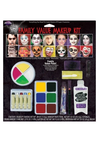Click Here to buy Family Makeup Value Kit from HalloweenCostumes, USA Funds & Shipping