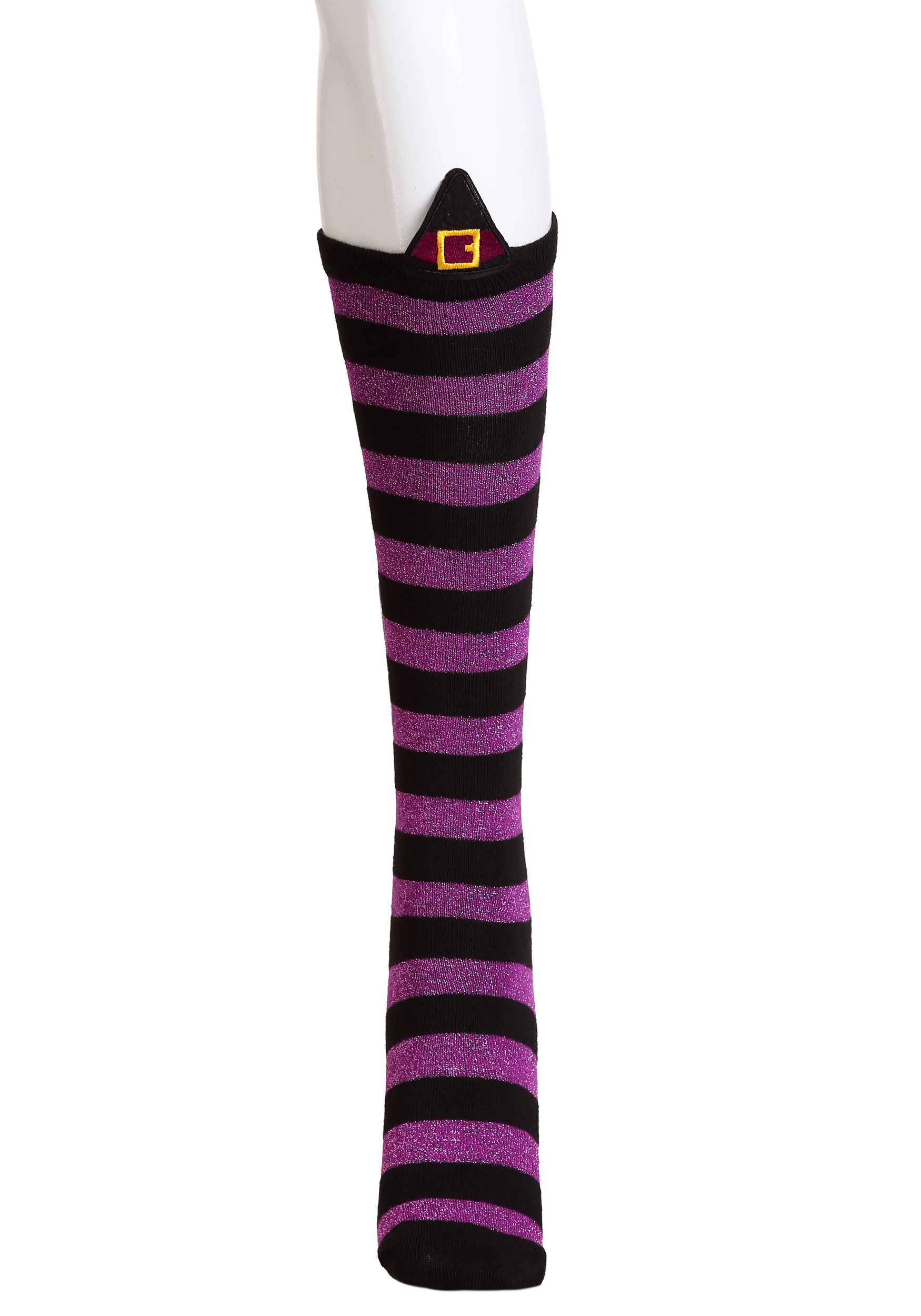 Novelty Witch Knee High Socks