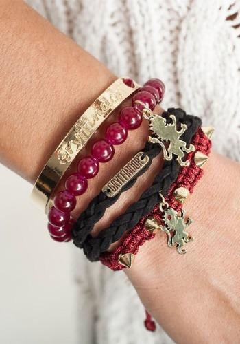 Harry Potter Gryffindor Arm Party Bracelet Set1