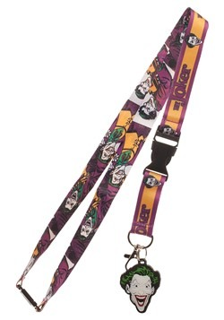 DC Batman Joker Lanyard Accessory