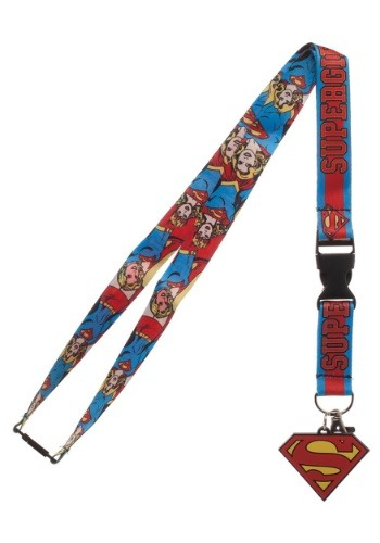 Click Here to buy DC Supergirl Lanyard from HalloweenCostumes, USA Funds & Shipping