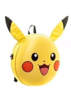 Pokemon Pikachu 3D Molded Backpack