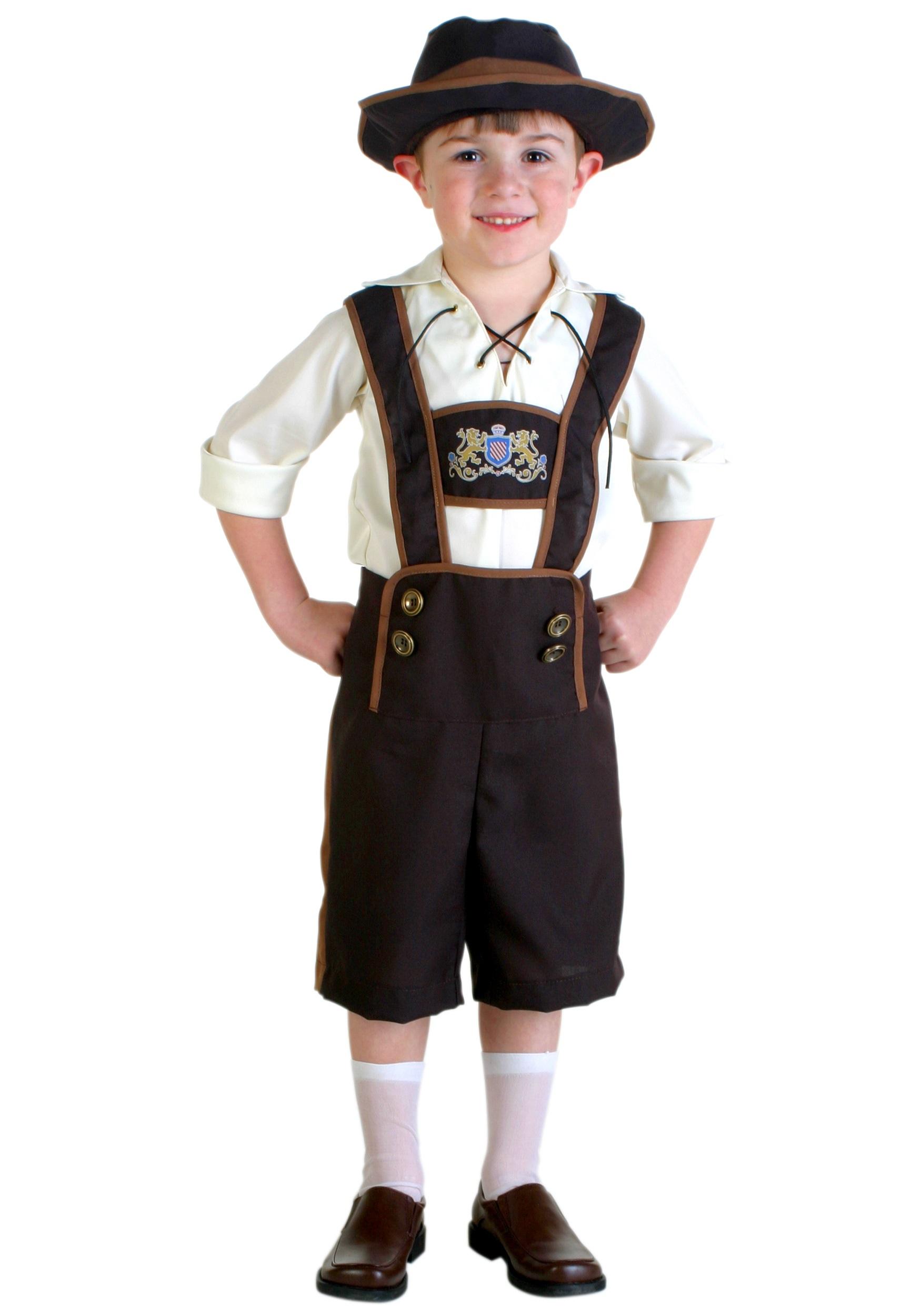 Toddler Lederhosen Boy Costume