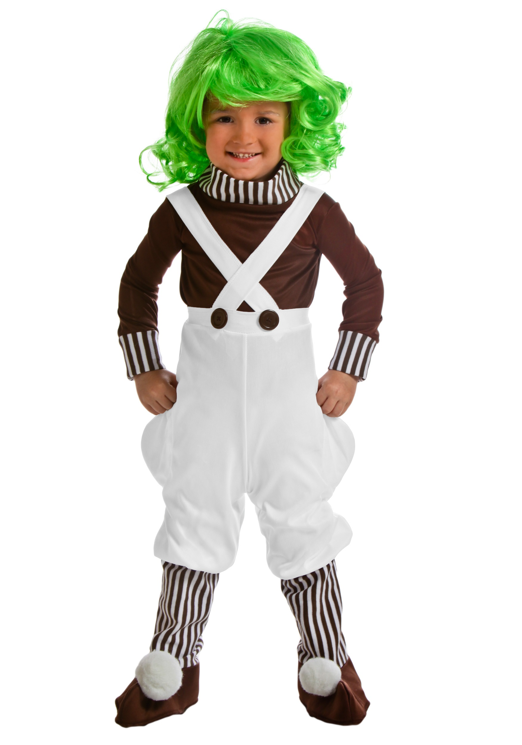 Toddler Chocolate Factory Worker Costume  sc 1 st  Halloween Costumes & Tots Chocolate Factory Worker Costume