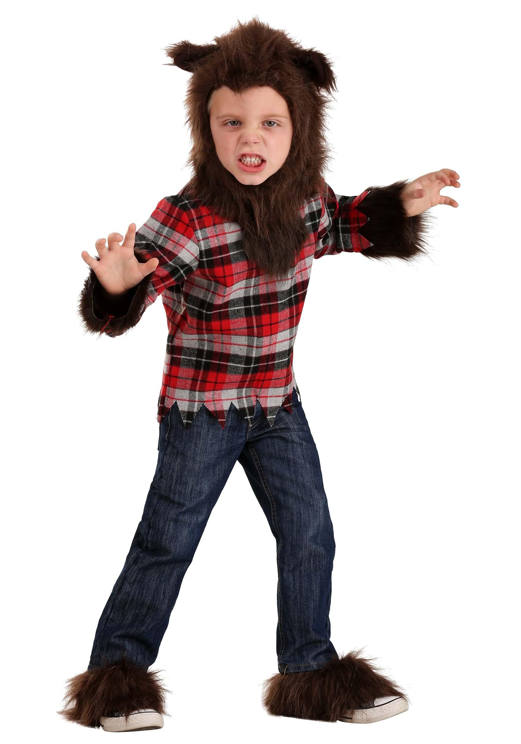Aninimal Book: Toddler Werewolf Costume