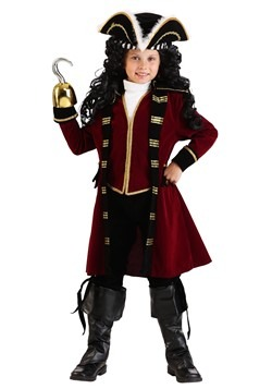 Child Deluxe Captain Hook Costume Update Main