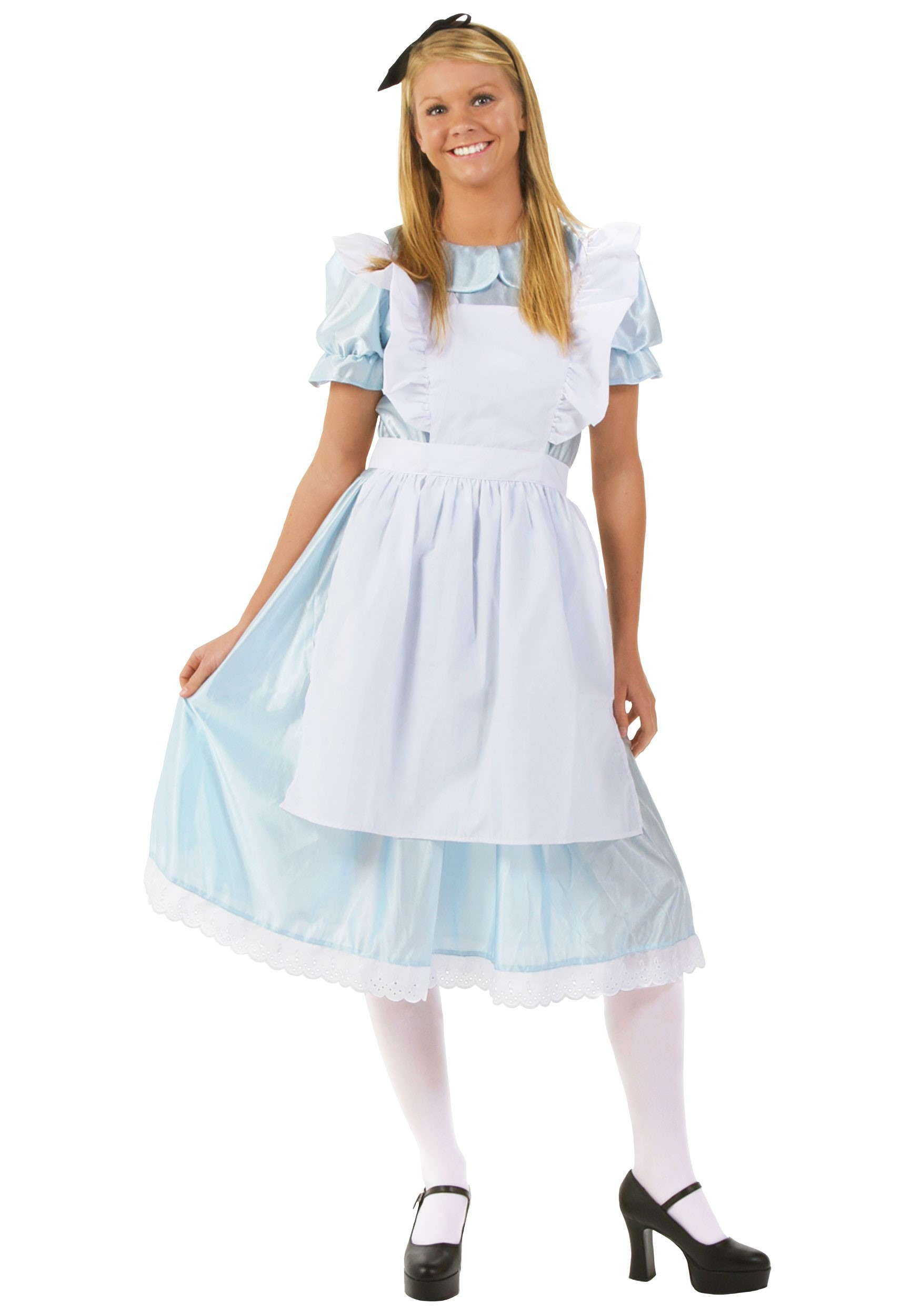 Adult alice in wonderland dress