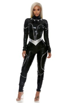 Women's Wild Cat Hero Costume1