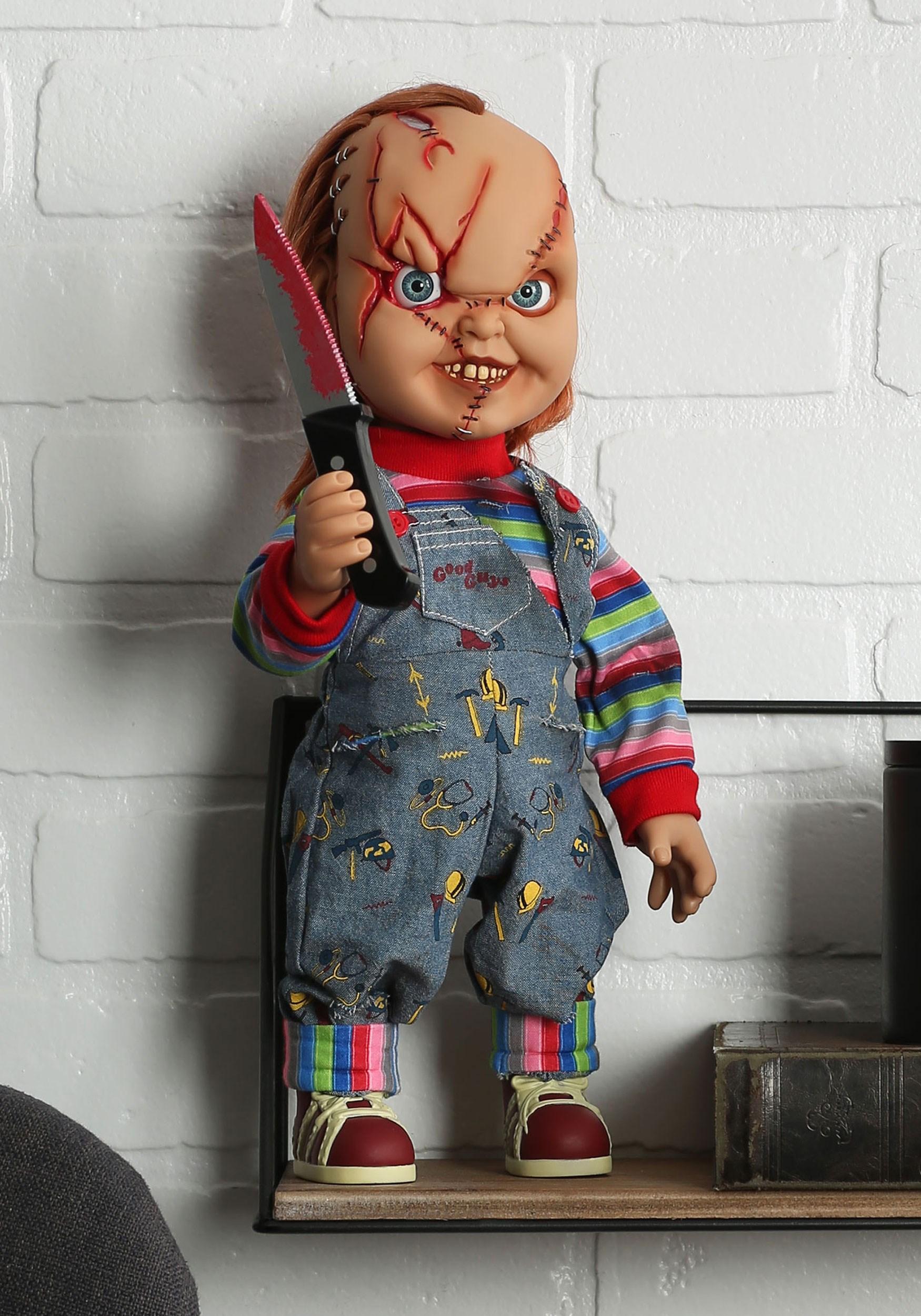 Chucky Scarred 15 Talking Good Guy Doll
