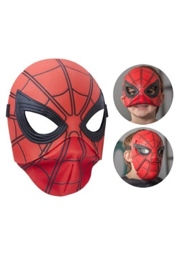 Click Here to buy Flip Up Mask Spider-Man Homecoming from HalloweenCostumes, CDN Funds