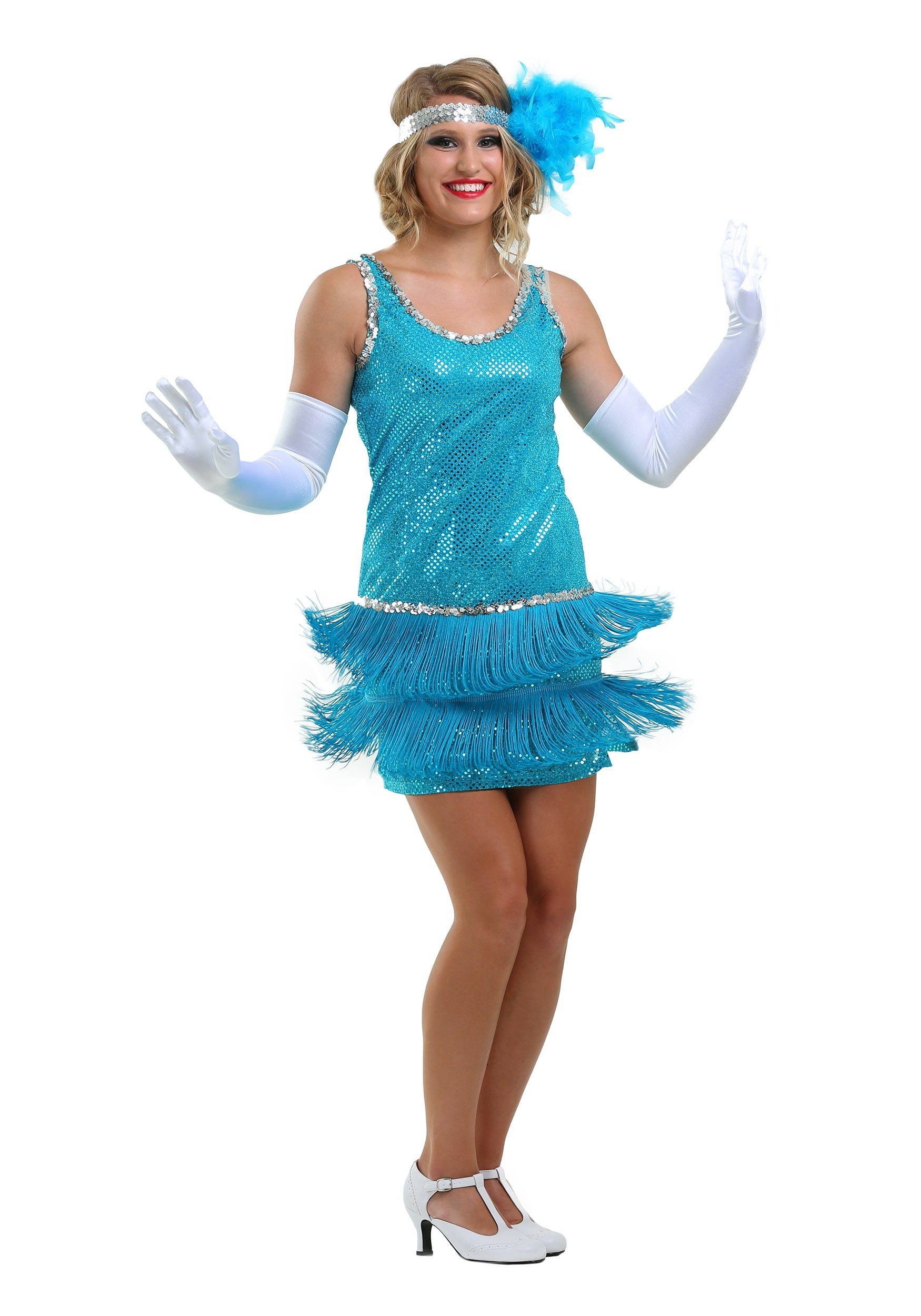 Flapper Sequin and Fringe Costume