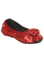 Child Ruby Red Slippers