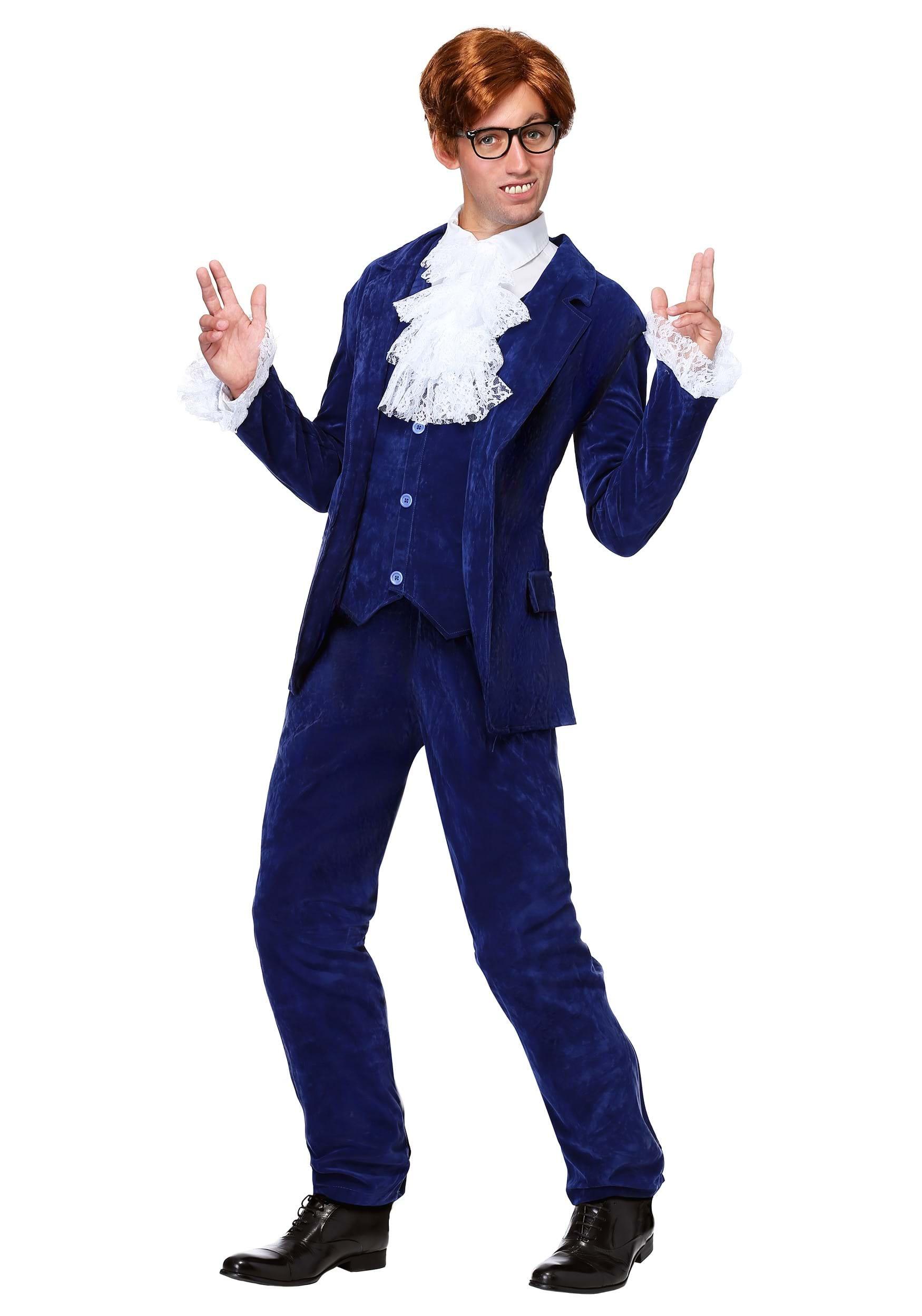 Deluxe Blue 60's Swinger Costume