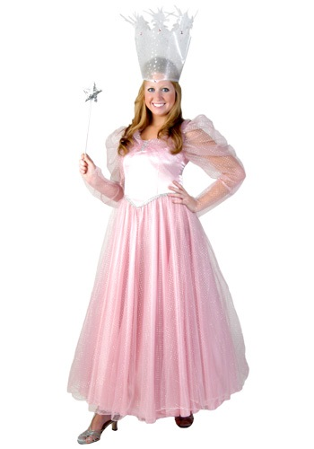 Click Here to buy Deluxe Plus Size Pink Witch Costume from HalloweenCostumes, USA Funds & Shipping