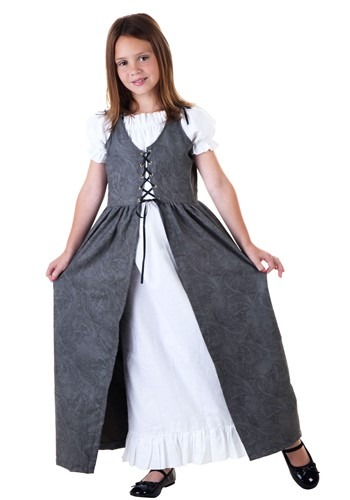 Click Here to buy Girls Renaissance Faire Costume from HalloweenCostumes, USA Funds & Shipping