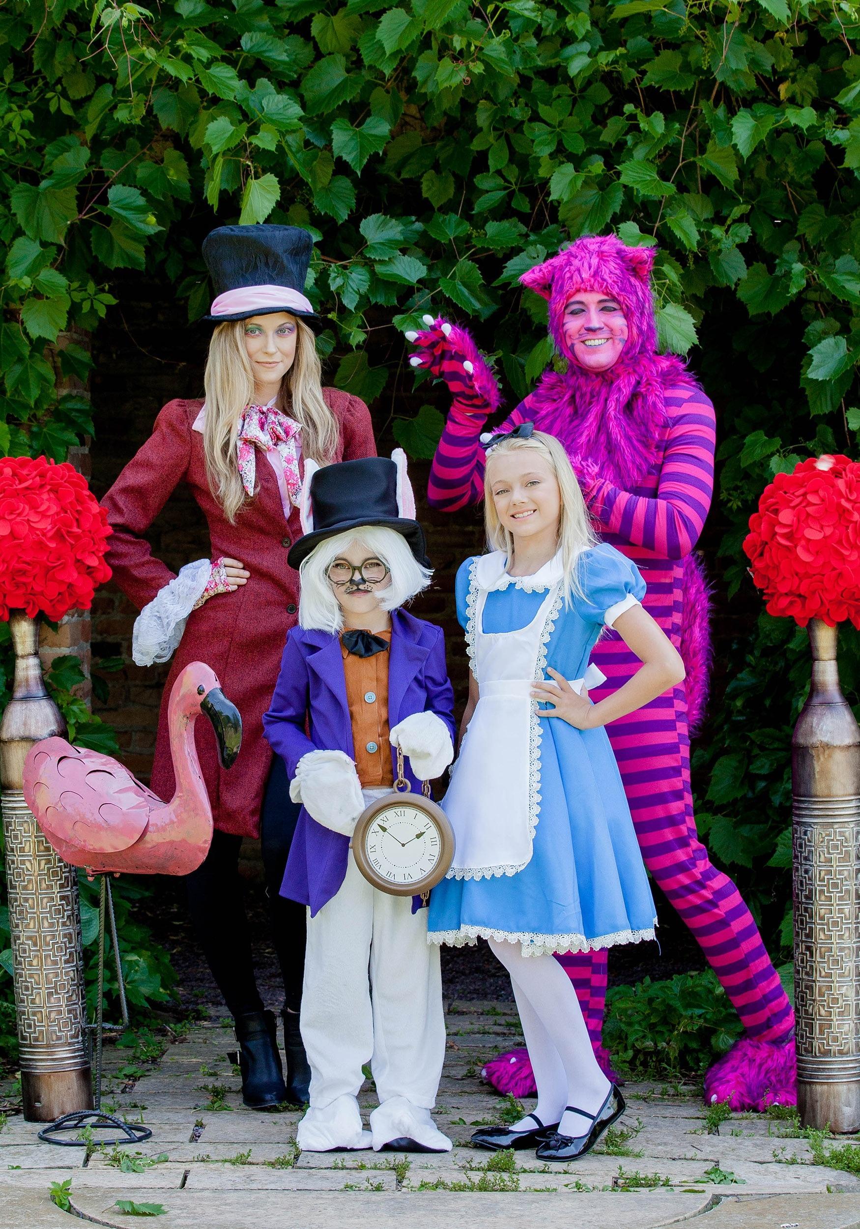 white rabbit child costume for kids
