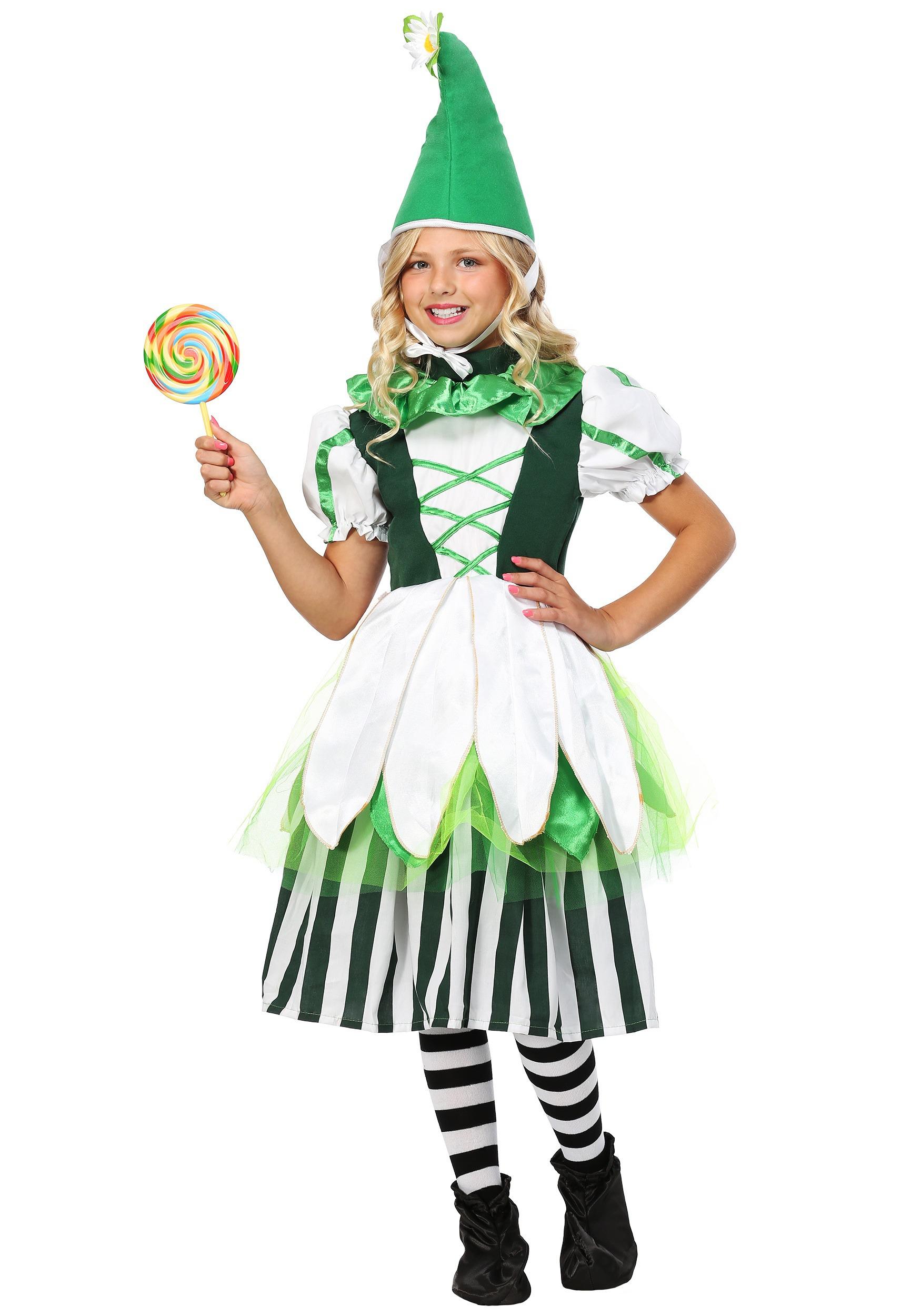 Child Deluxe Girl Munchkin Costume  sc 1 st  Halloween Costumes & Wizard of Oz Munchkin Costumes