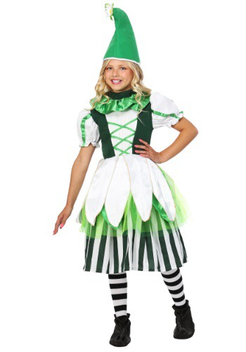Click Here to buy Kids Deluxe Girl Munchkin Costume from HalloweenCostumes, CDN Funds