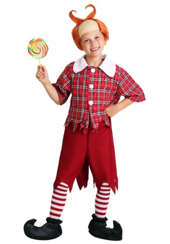 Click Here to buy Kids Red Munchkin Costume from HalloweenCostumes, USA Funds & Shipping