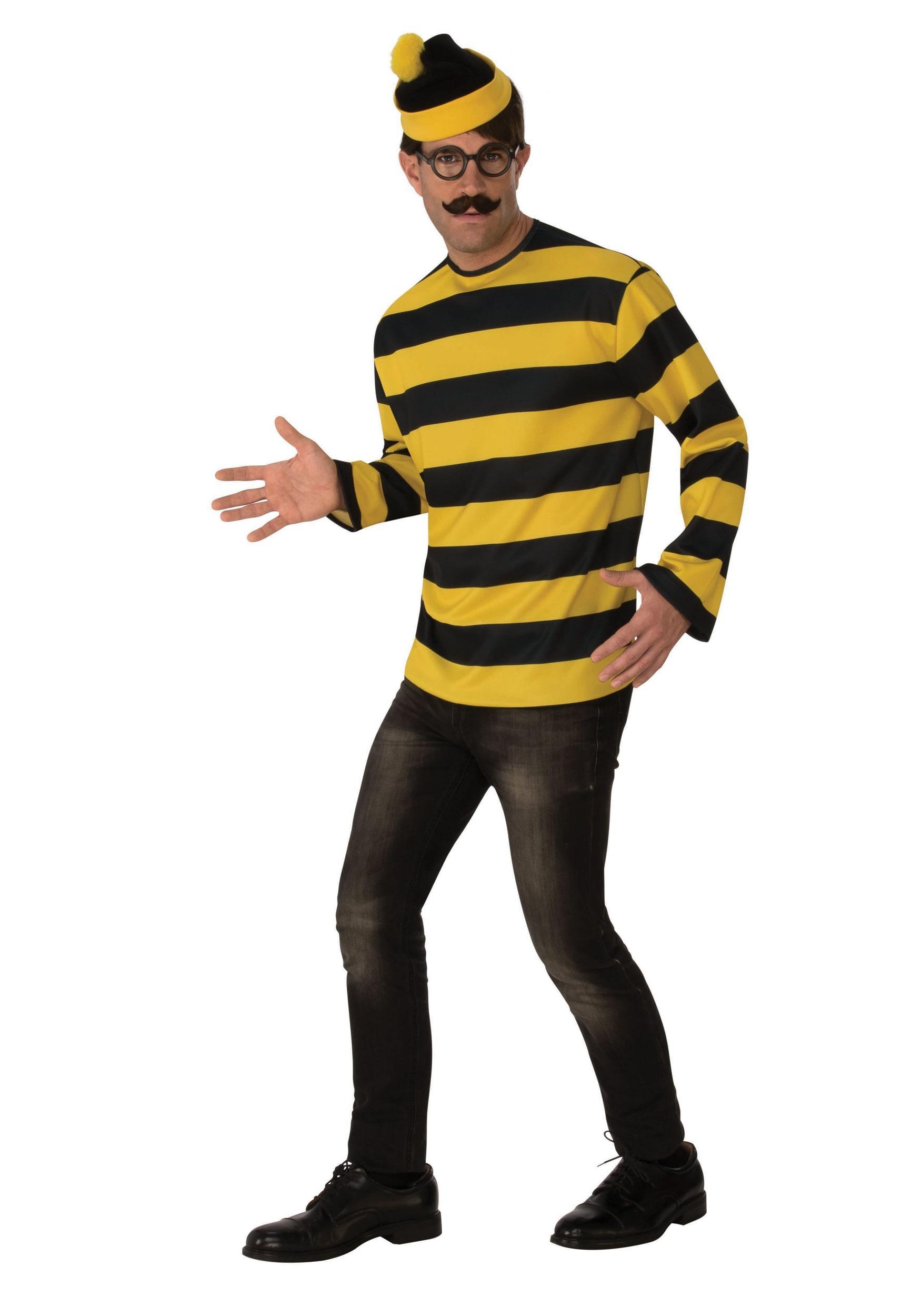 wheres waldo adult odlaw costume