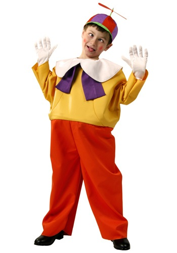 Kids Tweedle Dee  and  Dum Costume By: Fun Costumes for the 2015 Costume season.