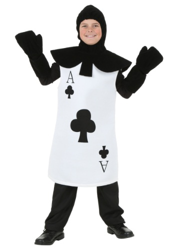 Click Here to buy Kids Ace of Clubs Costume from HalloweenCostumes, USA Funds & Shipping