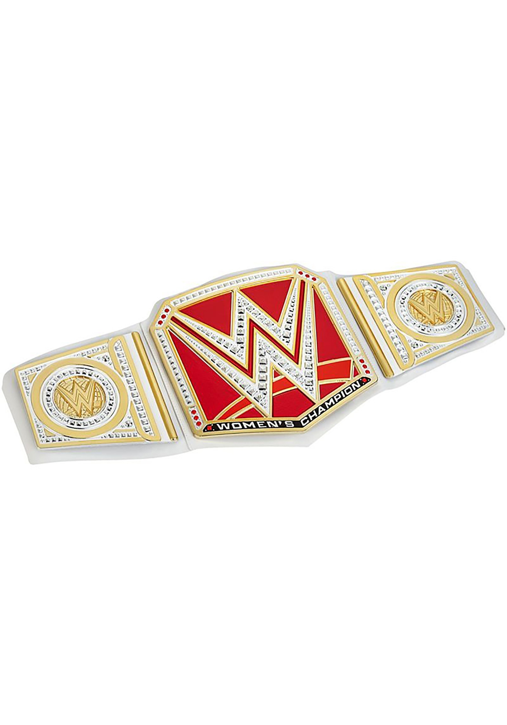 World Wrestling Championship Belt Costume Accessory Gold One Size Fits Most