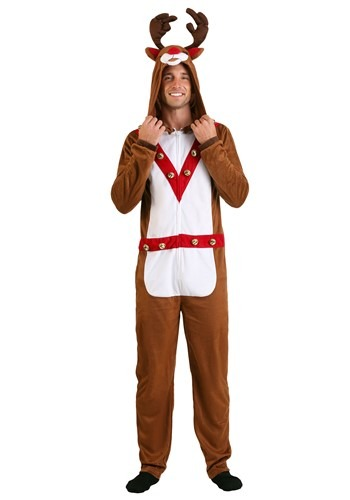 Click Here to buy Reindeer Adult Union Suit from HalloweenCostumes, CDN Funds