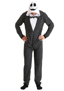 Nightmare Before Christmas Jack Skellington Onesie Mask