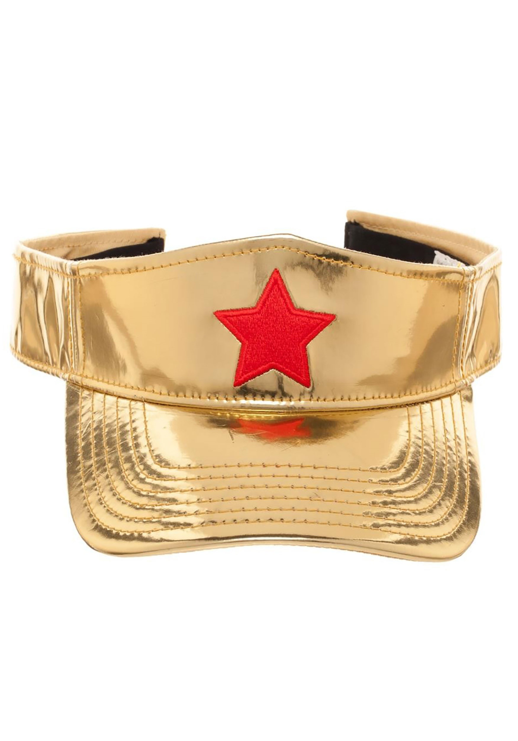 Adjustable wonder woman visor