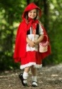 Deluxe Child Little Red Riding Hood Costume4