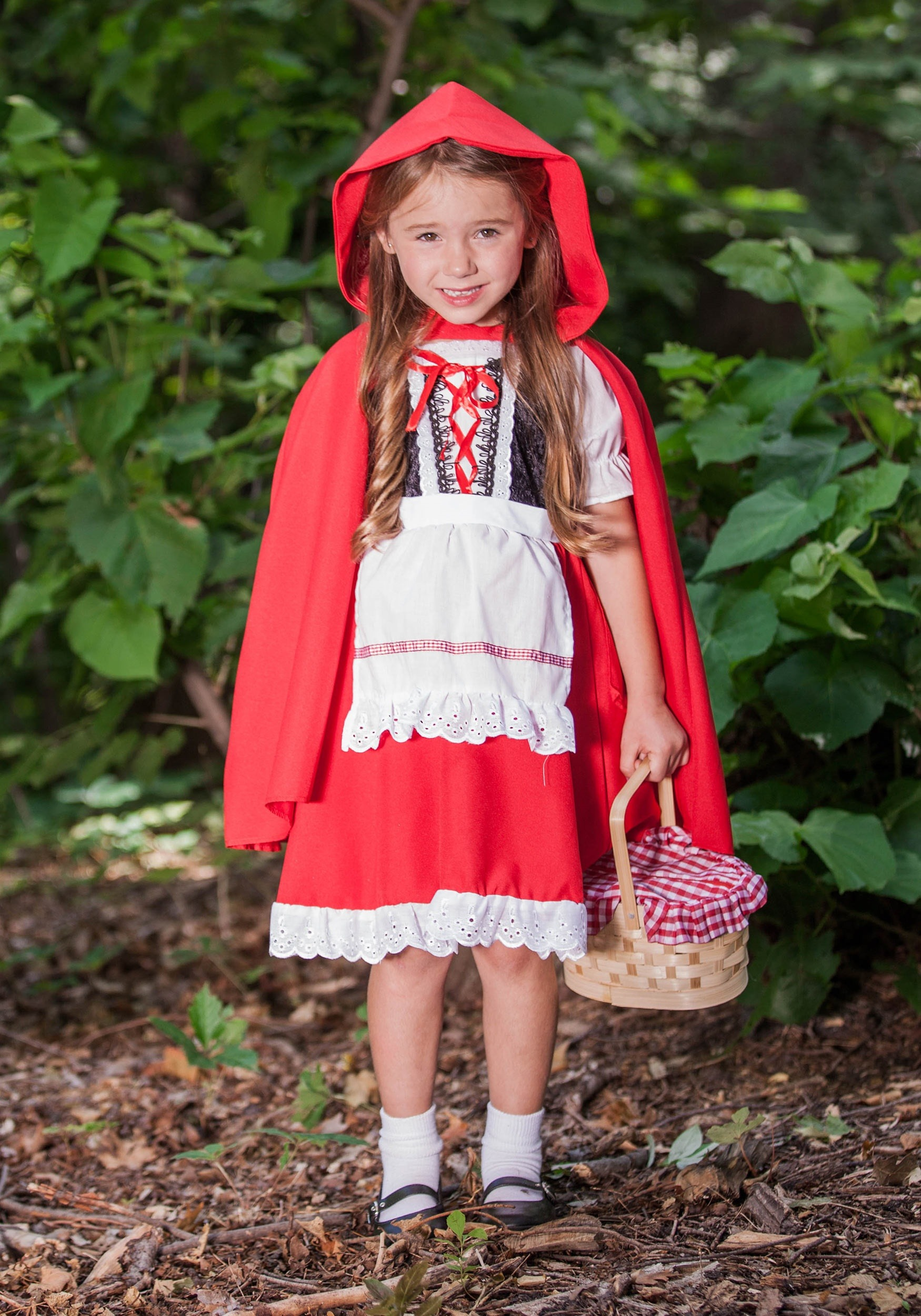 Deluxe Kids Little Red Riding Hood Costume