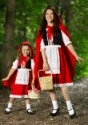 Deluxe Child Little Red Riding Hood Costume Pair 2