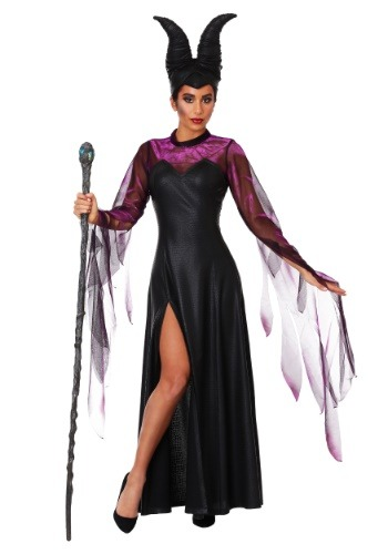 Women's Plus Size Malicious Queen Costume