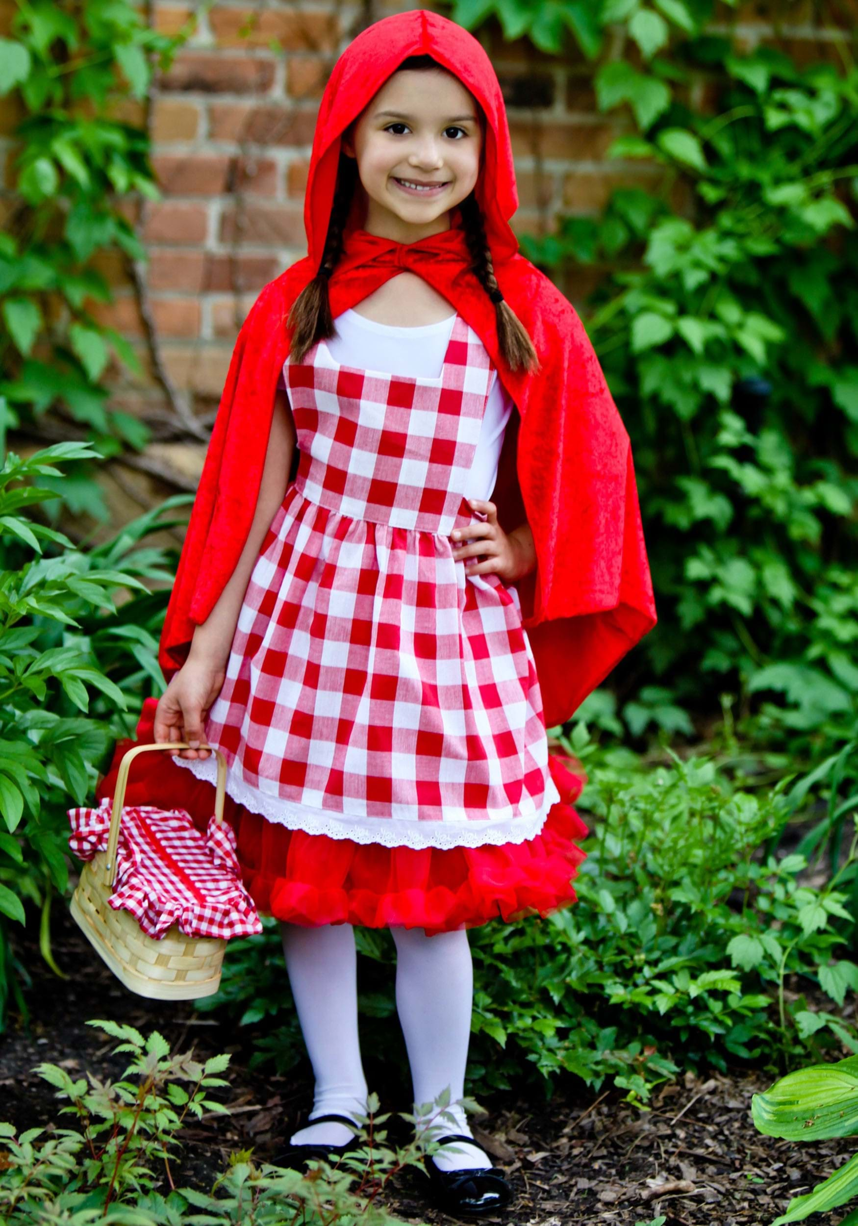 Little Red Riding Hood Halloween Costume Toddler