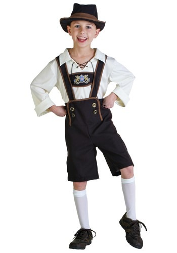 Click Here to buy Lederhosen Boy Costume from HalloweenCostumes, USA Funds & Shipping