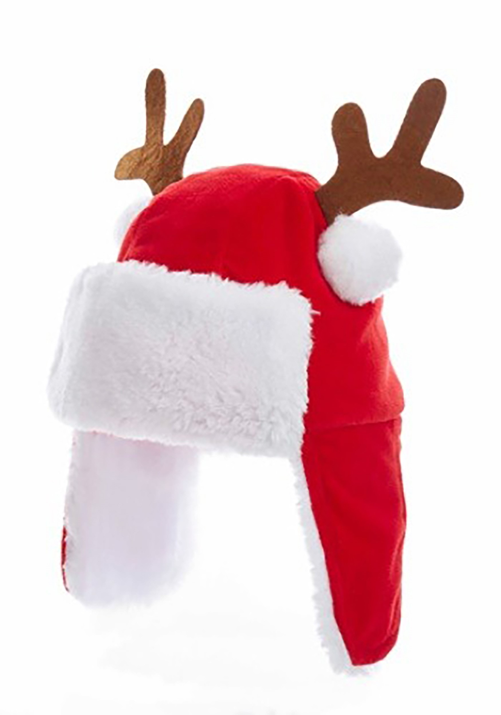 7 red kids christmas hat w antlers 7 red kids christmas hat w antlers