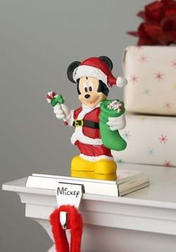 Santa Mickey Mouse Stocking Holder