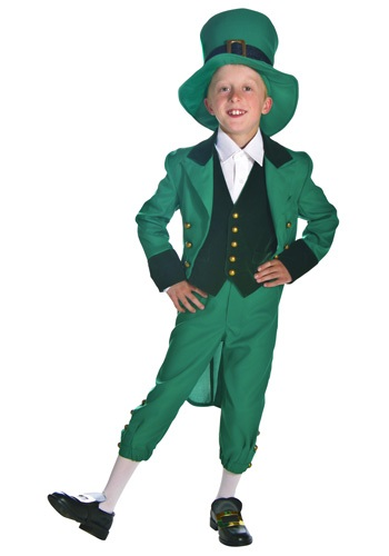 Click Here to buy Kids Leprechaun Costume from HalloweenCostumes, CDN Funds