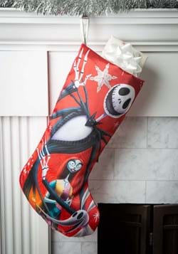 "19"" Nightmare Before Christmas Jack & Sally Stocking"