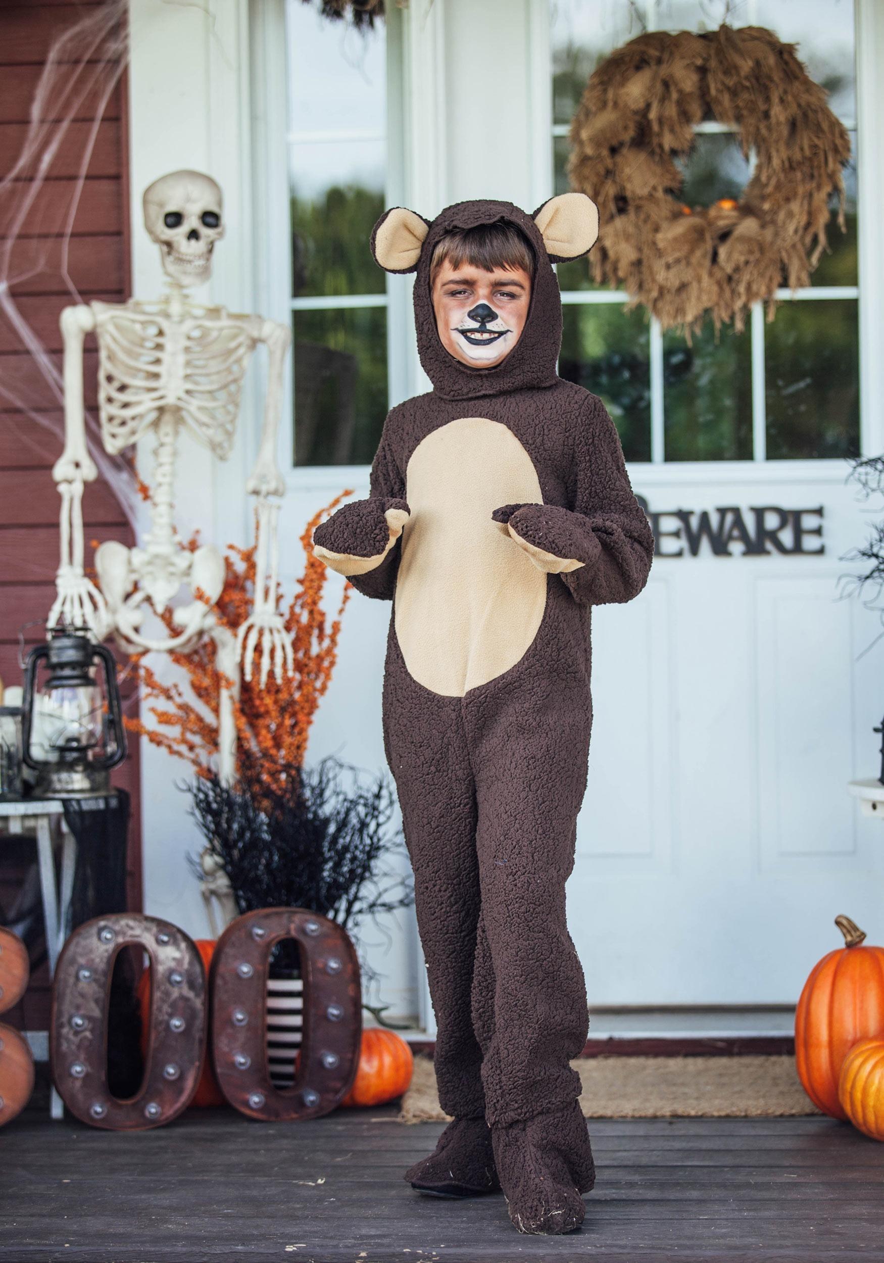 sc 1 st  Halloween Costumes & Child Bear Costume
