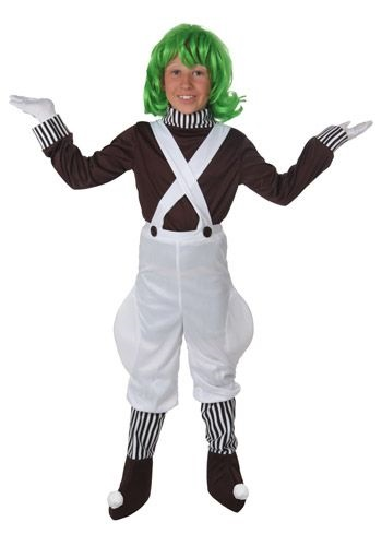 Kids Oompa Loompa Costume