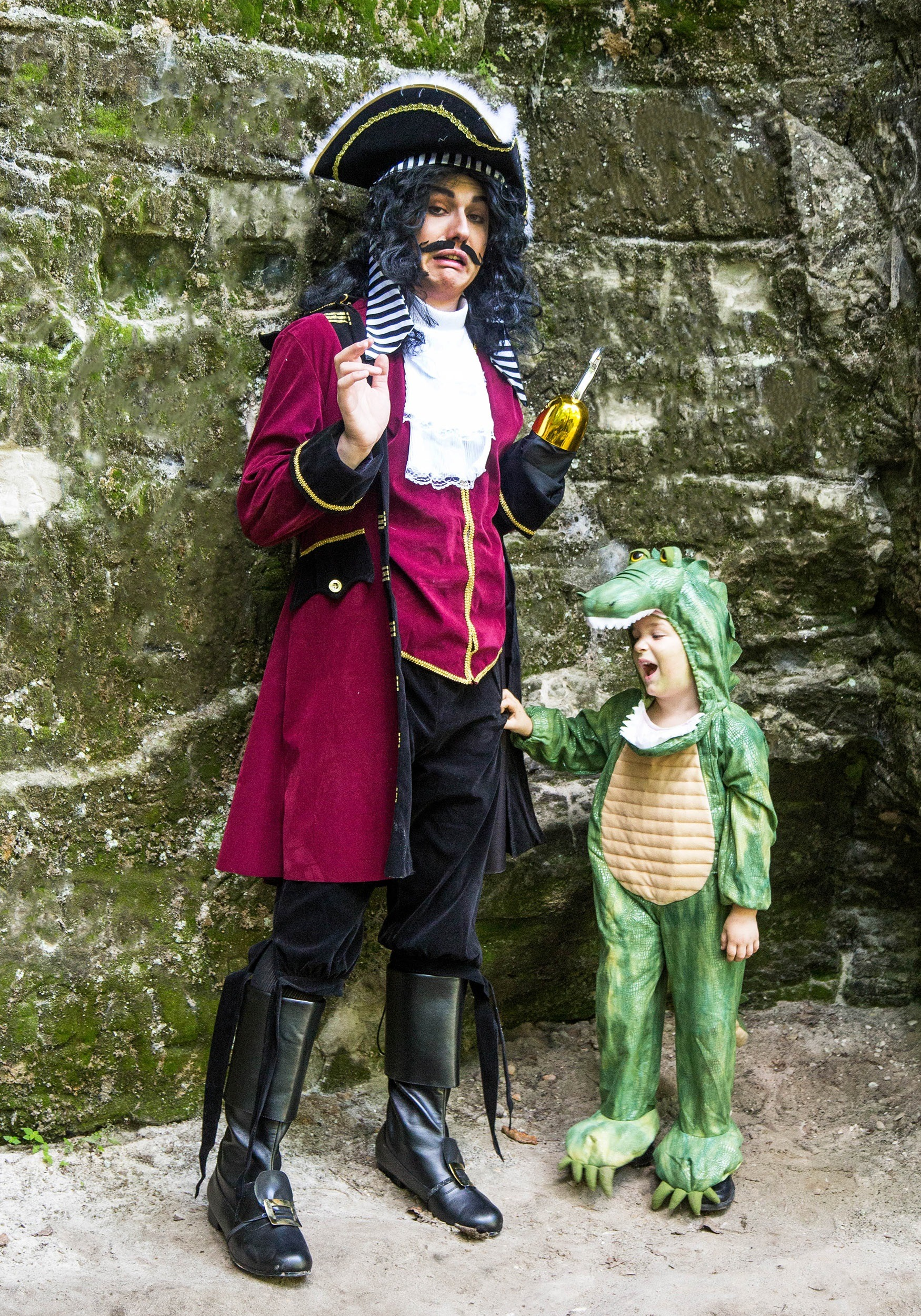 captain hook adult costume